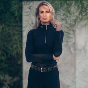 Fager-Elasticated-Leather-Belt-Black-Grey-3
