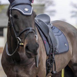 LeMieux-Ultra-Mesh-Dressage-Pad-Grey-Lifestyle-1