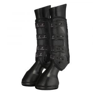 LeMieux-Ultra-Mesh-Snug-Boots-Black-Studio-1