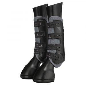 LeMieux-Ultra-Mesh-Snug-Boots-Grey-1