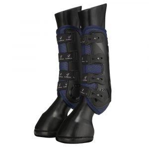 LeMieux-Ultra-Mesh-Snug-Boots-Navy-1