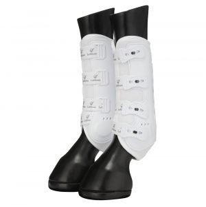 LeMieux-Ultra-Mesh-Snug-Boots-White-1