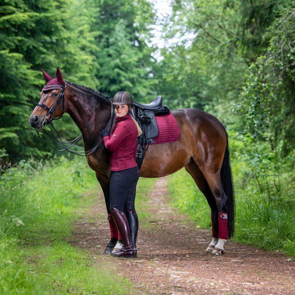 LeMieux-Suede-Saddle-Pad-Rioja-Lifestyle-Image-1