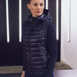 Pikeur-May-Ladies-Hybrid-Gilet-Black-Image-2