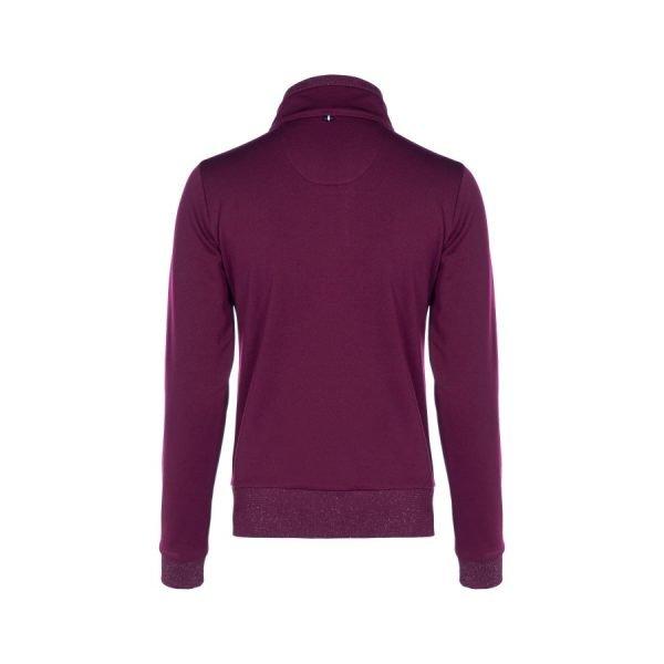 Cavallo-Bela-Ladies-Half-Zip-Sweatshirt-Rubin-1