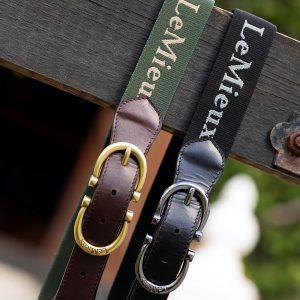 LeMieux-Elasticated-Belt-Black-Oak-Image-3