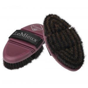 LeMieux-Flexi-Horse-Hair-Body-Brush-Rioja