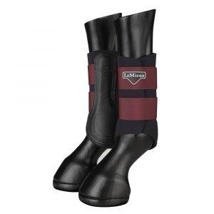 LeMieux-Grafter-Brushing-Boots-Rioja-1