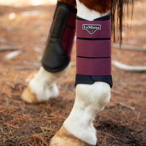 LeMieux-Grafter-Brushing-Boots-Rioja-Lifestyle