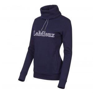 LeMieux-Highland-Funnel-Neck-Hoodie-Lifestyle-Image-Navy-3