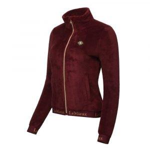 LeMieux-Liberte-Fleece-Jacket-Lifestyle-Image-Rioja-5