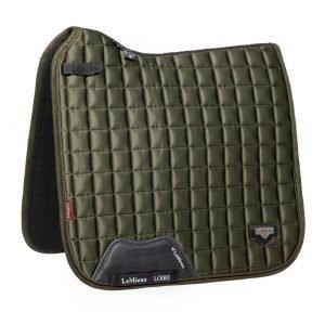 LeMieux-Loire-Classic-Dressage-Saddle-Pad-Oak-Green-1