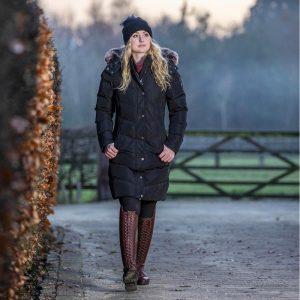 LeMieux-Loire-Winter-Long-Coat-Black-Image-1