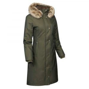 LeMieux-Waterproof-Riding-Coat-Oak-Green-3
