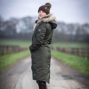 LeMieux-Waterproof-Riding-Coat-Oak-Lifestyle-1