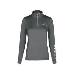 Cavallo-Belly-Half-Zip-Functional-Shirt-Cypress-1