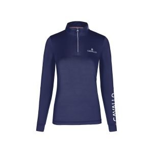 Cavallo-Belly-Half-Zip-Functional-Shirt-Dark-Blue-2